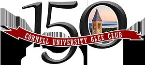 Cornell University Glee Club 150th Anniversary Logo